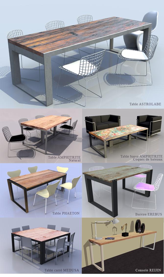 nowmad sarl tables sur mesure nowmad. Black Bedroom Furniture Sets. Home Design Ideas